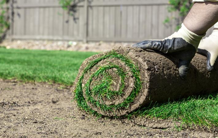 Les Entreprises J. Nadeau | Notre service d'installation de tourbe, pelouse et de gazon'