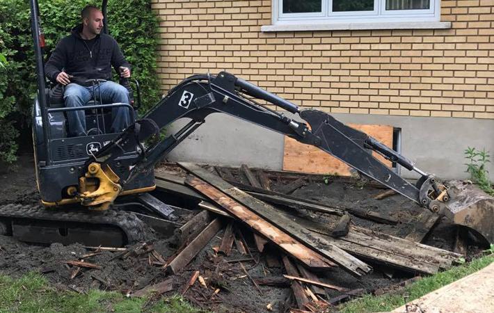 Les Entreprises J. Nadeau   Notre service d'excavation et finition de travaux